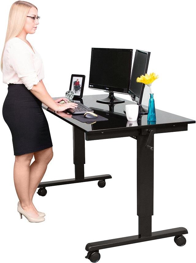 Schreibtisch kaufen h henverstellbarer schreibtisch for Schreibtisch test