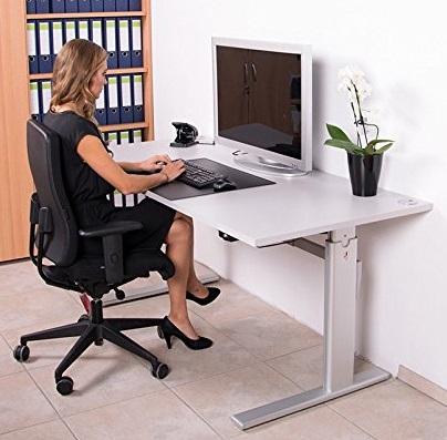 Schreibtisch Kaufen Hohenverstellbarer Schreibtisch