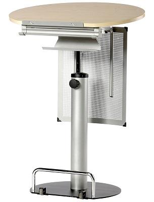 Stehpult Mit Ablage Kettler 06093 272 Höhenverstellbarer Schreibtisch