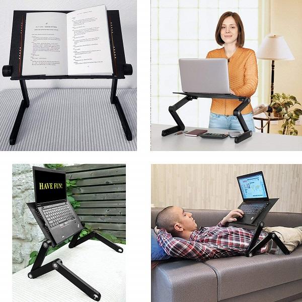 Schreibtischaufsatz und Laptoptisch Wonder Worker Newton