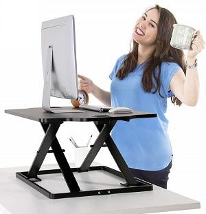 höhenverstellbarer Schreibtischaufsatz PUTORSEN