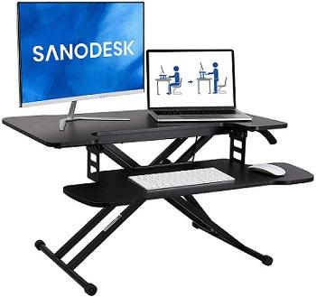 Schreibtischaufsatz Sanodesk