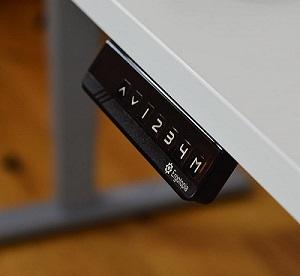 Display Sitz-Steh-Schreibtisch Ergotopia