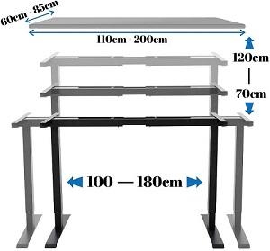 Schreibtisch-Gestell E.For.U Q6